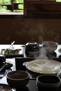 湯豆腐 yudoufu , Okutan Kiyomizu Kyoto
