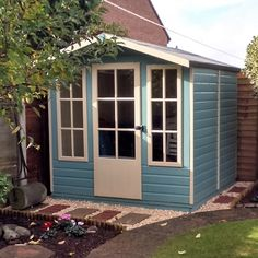 Make Awesome Wooden Sheds Yourself ! Look How To Do It ! build a shed free shed plan garden shed garden storage shed wood shed woodworking Garden Fence Panels, Garden Gates, Shiplap Cladding, Shed Base, Free Shed, Garden Storage Shed, Places In California, Wooden Sheds, Garden Buildings
