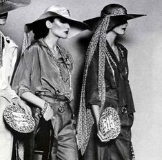 Hats.  Early 70s