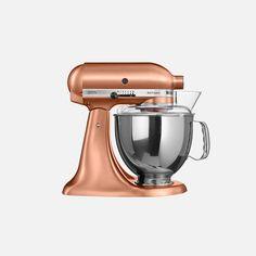 KitchenAid Artisan Stand Mixer 4.8l & Free Attachment. Loving the Satin Copper finish of this beautiful piece of KitchenAid.