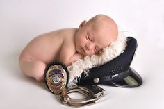 Newborn Photography - Police Baby                                                                                                                                                      More