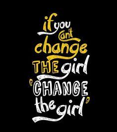 Change the girl guys black tee @ Bewakoof.com