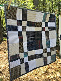 Studio Dragonfly: Five Small Memory Quilts Quilting For Beginners Made Easy Quilting for beginners m Man Quilt, Boy Quilts, Star Quilts, Scrappy Quilts, Patchwork Quilting, Flannel Quilts, Plaid Quilt, Quilts For Men Patterns, Quilt Patterns
