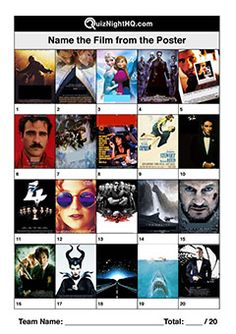 An exceptionally difficult round for people who aren't into movies. Trivia Quiz Questions, Trivia Questions And Answers, This Or That Questions, Trivia Games For Adults, Picses Facts, Film Quiz, Quiz Design, School Quiz, Movie Facts