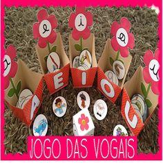 Jogo das Vogais - A Arte de Ensinar e Aprender