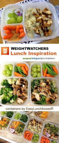 Packed lunches and more. 2019 motivation and inspiration. Packed lunches and more. Packed lunches and more. 2019 appeared first on Lunch Diy. Weight Watchers Lunches, Plats Weight Watchers, Weight Watchers Smart Points, Ww Recipes, Cooking Recipes, Healthy Recipes, Easy Cooking, Recipies, Clean Eating