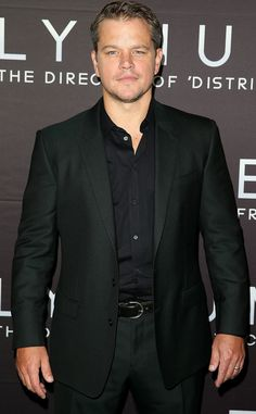 Matt Damon #celebrity #mensfashion