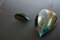 Anastasia Arinovich Gorgeous pod necklace polymerclayfimo: Изделия - почти коллекция