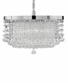 Uttermost Chandelier, Fascination 3-Light - Ceiling Lighting - for the home - Macy's