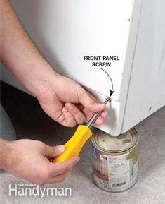 how to unclog washing machine