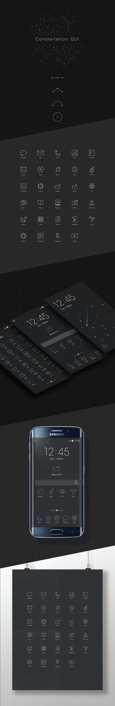 Constellation GUI on Behance