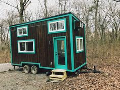 This is the Nash Tiny House built by Modern Tiny Living in Ohio! It's a tiny home on wheels that you can vacation in near Nashville, Tennessee. Tiny House Hotel, Tiny House Big Living, Tiny House Company, Best Tiny House, Tiny House Listings, Tiny House Plans, Tiny House On Wheels, Tiny Houses For Sale, Little Houses