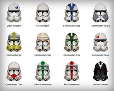 All my fave clone troopers