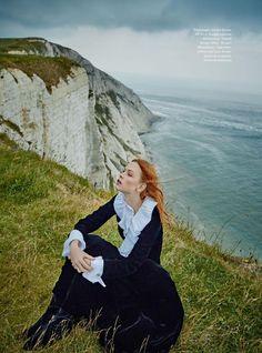 Dani Witt stars in Town & Country's Magazine autumn issue
