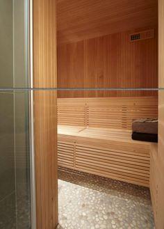 Saunavloer = < handig schoonmaken, maar wel voetmassage? En origineel.