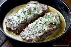 Made with fresh crushed black pepper and a creamy Cognac sauce, Steak au Poivre is not to be missed. Perfect for a special occasion meal!