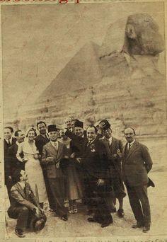 Charles  Chaplin  at pyramids 1932