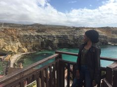 Sunny Mediterranean day at Popeye's Village. Just queening it on this Mediterranean Island 👸🏾☺️ cause big hair don't care Popeye The Sailor Man, Big Hair Dont Care, Rocky Shore, Island Life, Malta, Don't Care, Grand Canyon, Travel, Malt Beer