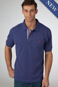 Southern Tide's Navigational Collection Skipjack polo is designed with their innovative True-Vent Micro Pique, beach glass inspired buttons, simple embroidery and nautical trim for a clean look that is truly one-of-a-kind. Polo T Shirts, Sports Shirts, Fall Lookbook, Simple Embroidery, Southern Tide, Autumn Fashion, Polo Ralph Lauren, Sleeves, Mens Tops