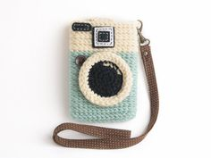 Crochet Diana Dreamer iPhone Case (4,4S,5) $18 Other camera coin purses and iPhone covers, too $18