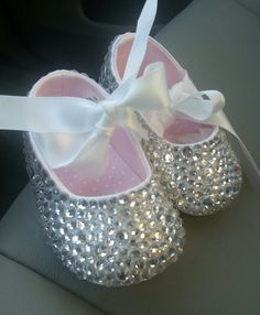 Baby Girl Bling Shoes by PoshTots13 on Etsy Bling Baby Shoes 773c57920
