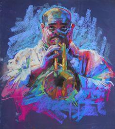 Chalk pastel, by 30 ins by jamel akib chalk pastel art, pastel artwor Pastel Art, Soft Pastel Art, Art Drawings, Drawings, Pastel Drawing, Pastel Painting, Pastel Portraits, Portrait Art, Musical Art