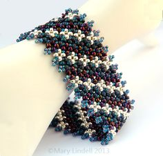 Experimenting with African Pondo Stitch - Mary Lindell Artisan Jewelry