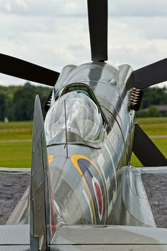 Supermarine Spitfire FRXIVe - 6 I want my own plane. Ww2 Aircraft, Fighter Aircraft, Military Aircraft, Fighter Jets, Aircraft Parts, Spitfire Supermarine, Spitfire Airplane, Photo Avion, Old Planes