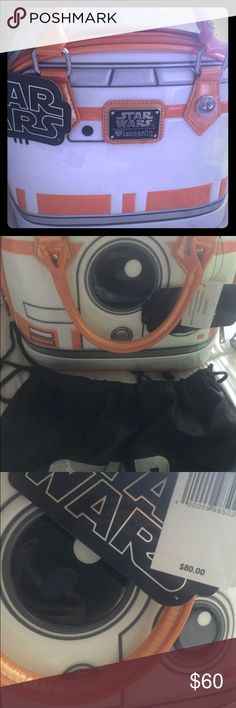 Star Wars collectible handbag Medium size limited edition star wars hand bag Loungefly Bags Totes