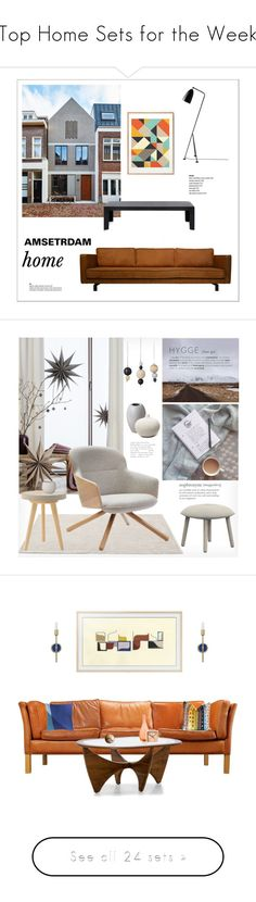 """Top Home Sets for the Week"" by polyvore ❤ liked on Polyvore featuring interior, interiors, interior design, home, home decor, interior decorating, New Kid, Kartell, Gubi and &Tradition"