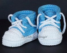 crochet boy baby shoes – Etsy