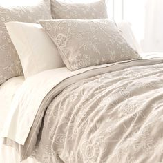 You'll love the Hyacinth 3 Piece Embroidered Reversible Duvet Set at Wayfair - Great Deals on all Bed & Bath  products with Free Shipping on most stuff, even the big stuff.