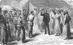 """Dr. Livingstone, I presume?""  Henry Morton Stanley finally meets Livingstone at the shores of Lake Tanganyika on 27th October 1871."