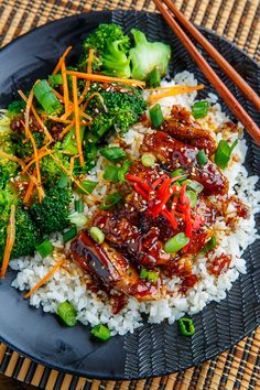 Chicken Teriyaki Recipe : A quick and easy chicken teriyaki thighs with crispy golden brown skin! Chicken Teriyaki Recipe, Chicken Recipes, Steak Recipes, Asian Recipes, Healthy Recipes, Clean Eating, Healthy Eating, Food Cravings, Dinner Recipes