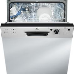 Buy a used Indesit Ecotime Built-in Dishwasher - Silver. ✅Compare prices by UK Leading retailers that sells ⭐Used Indesit Ecotime Built-in Dishwasher - Silver for cheap prices. Integrated Dishwasher, Built In Dishwasher, Stainless Steel Panels, Stainless Steel Appliances, Cooking Appliances, Kitchen Appliances, Retail Websites, Tesco Direct, Racking System