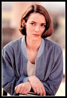 Winona as Blanca Trueba in House of the Spirits. I bought this photo from a street vendor in Los Angeles. Haha!