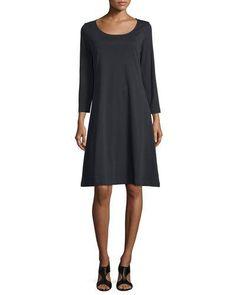 Cocktail dress 3 4 sleeve mariners shirt