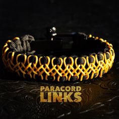 The wicked Diamond Links design can be made in any color combo. Available today in the online store. Always the Best! www.paracordlinks.com