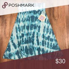 Small Lularoe Azure Skirt Super stretchy and slinky. LuLaRoe Skirts
