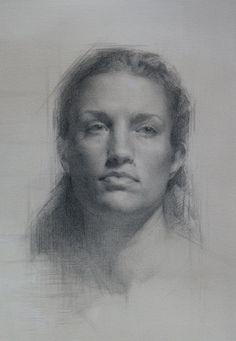 Zoey Frank (pencil on toned paper)