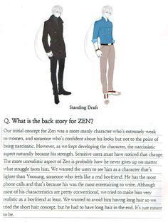 Mystic Messenger, Zen, Hyun Ryu