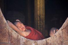 Burma - monks, www.lucaserradura.com  via Flickr.