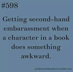 Yep. If it's too bad, I have to stop reading.