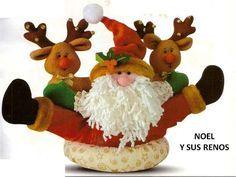 Patrón Noel y sus renos
