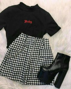 Style Outfits, Cute Comfy Outfits, Mode Outfits, Retro Outfits, Cute Casual Outfits, Tumblr Outfits, Style Clothes, Girls Fashion Clothes, Teen Fashion Outfits