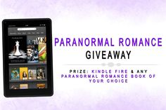 This giveaway is brought to you by 10 Paranormal Romance authors, check them out here! This is your chance to win A KINDLE & ANY paranormal romance book! We've picked the genre…but the winner picks the book! By entering you are agreeing to be subscribed to the sponsoring authors´ newsletters (these are the sponsors). This is your chance to get, for free, the latest Paranormal Romance and a Kindle! Don´t forget to share your Lucky URL to get more chances to win! Good luck!