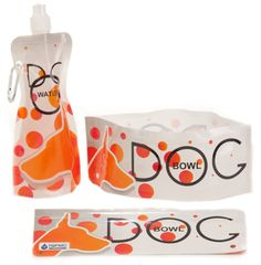 The temperatures are starting to climb and a season of outdoor activities is upon us! Keep your pooch hydrated on-the-go with H2FidO, an innovative water bottle and travel bowl from Modgy.