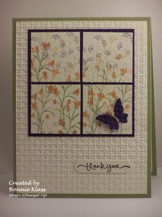 Garden View by bon2stamp - Cards and Paper Crafts at Splitcoaststampers