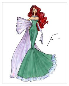 Disney Princesses 'Ariel' by Yigit Ozcakmak