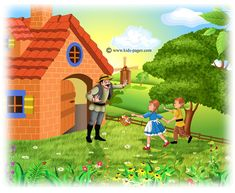 Perníková chalúpka - Hansel and Grethen Beginning Running, Kids Pages, Coloring Pages, Fairy Tales, Disney Characters, English, Painting, School, Art